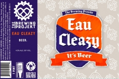 The Brewing Projekt - Eau Cleazy