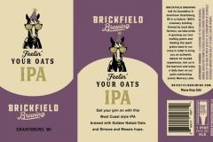 Brickfield Brewing - Feelin' Your Oats