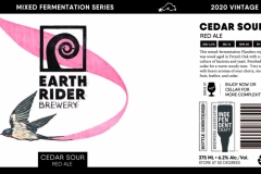 Earth Rider Brewery - Cedar Sour Red Ale
