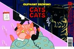 Cats Cats 16oz Label