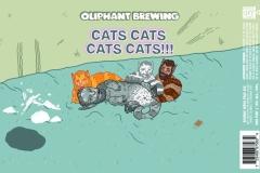 Cats Cats Cats Cats 16oz Label