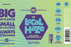 Milwaukee Brewing Company - Local Haze