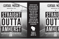 Central Waters Brewing Co. - Straight Outta Amherst