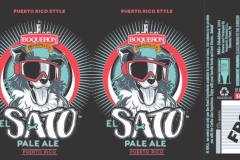 Boqueron Brewing Co - El Sato Pale Ale