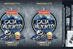 Boqueron Brewing Co - Caja De Muerto Summer Ale