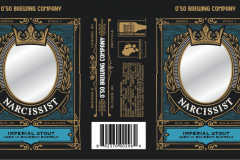 O'so Brewing Company - Narcissist - Bourbon Barrel Aged