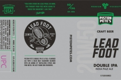 Lead Foot - 20w50 Double Ipa