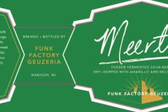 Funk Factory Geuzeria - Meerts