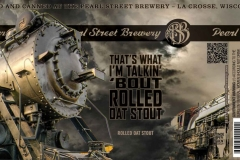 That's What I'm Talkin' Bout Rolled Oat Stout -