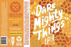 The Brewing Projekt - Dare Mighty Things Citra