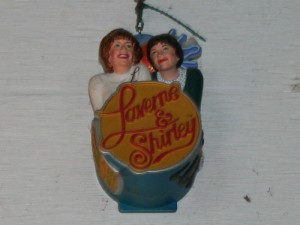 Lakefront Brewery Laverne & Shirley ornament.