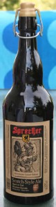 Yes, my very own bottle of Sprecter Scotch-Style Ale!