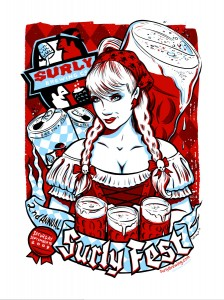 Surly Brewing Fest Poster - I know it doesn't go along with the aritcle, but it is from Surly and it is pretty darn tootin' cool.