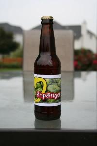 O'so Brewing Companies Hopdinger an enjoyable APA with a real balanced hop presence.