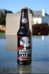 OAKED Arrogan Bastard Ale by Stone Brewing Company another fine example of their beers.