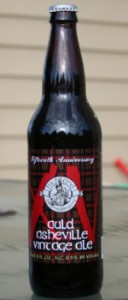 highland brewing company auld asheville vintage ale
