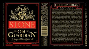 stone brewing company old guardian
