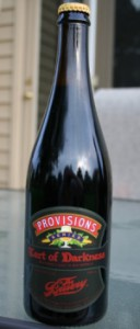 the bruery provisions series - tart of darkness