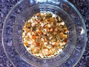 corriander and orange peel