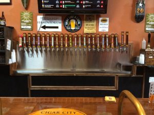 cigar city tap handles